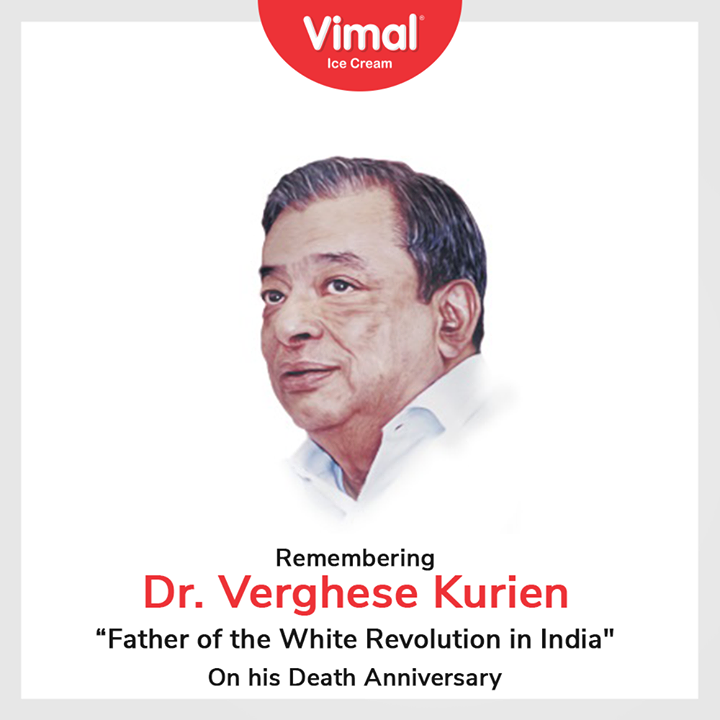 Vimal Ice Cream,  DRVergheseKurien, WhiteRevolution, DeathAnniversary, VimalIceCream, IceCreamLovers, FrostyLips, Vimal, IceCream, Ahmedabad