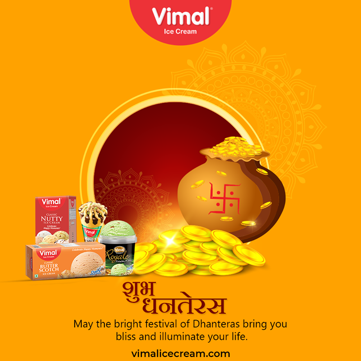 Vimal Ice Cream,  Dhanteras, Dhanteras2020, ShubhDhanteras, IndianFestivals, DiwaliIsHere, Celebration, HappyDhanteras, FestiveSeason, VimalIceCream, IceCreamLovers, Vimal, IceCream, Ahmedabad