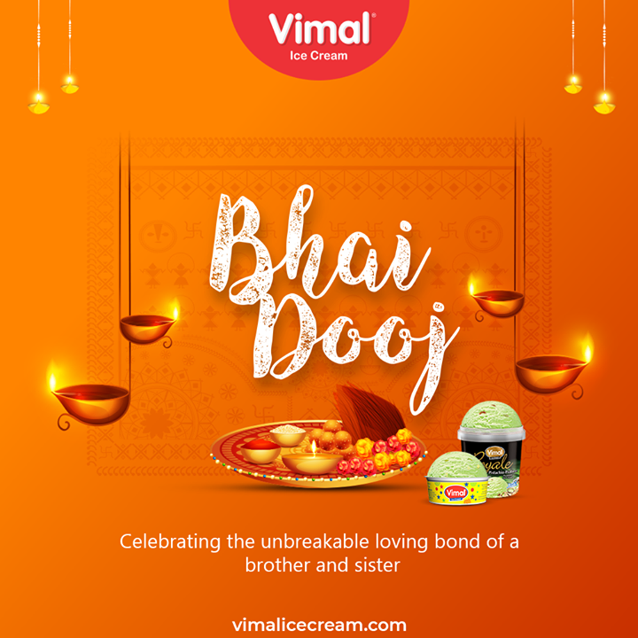 Vimal Ice Cream,  HappyBhaiDooj, BhaiDooj, BhaiDooj2020, Siblinghood, IndianFestivals, Celebration, HappyDiwali, FestiveSeason, VimalIceCream, IceCreamLovers, Vimal, IceCream, Ahmedabad