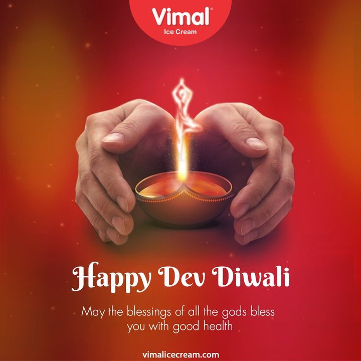 May the blessings of all the gods bless you with good health   #DevDiwali #SubhDevDiwali #DevDiwali2020 #VimalIceCream #IceCreamLovers #ChocolateCone #Cone #Vimal #IceCream #Ahmedabad