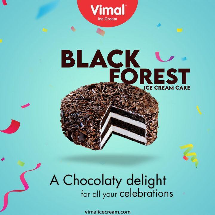 Vimal Ice Cream,  VimalBlackForestIceCreamCake, BlackForestIceCreamCake, VimalIceCream, IceCreamLovers, Vimal, IceCream, Ahmedabad