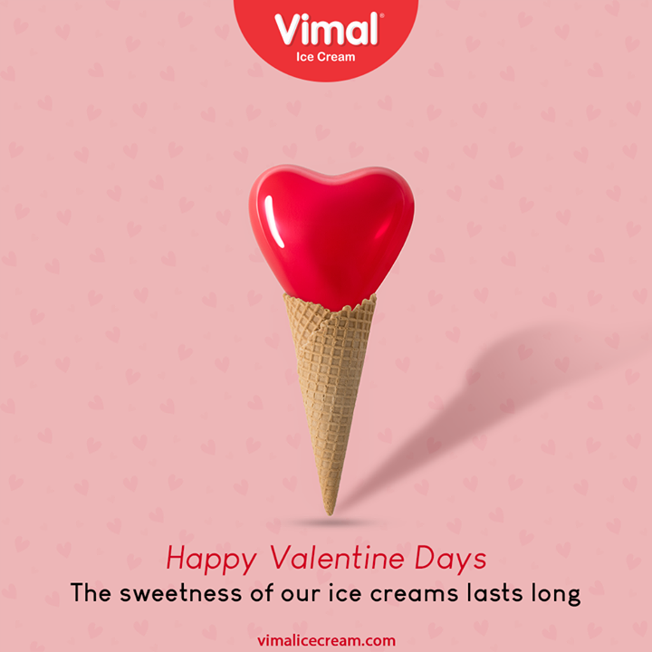 Celebrate love and happiness that lasts long. Happy Valentine's Day.  #HappyValentinesDay #Valentine #Love #ValentinesDay #ValentinesDay2021 #VimalIceCream #IceCreamLovers #Vimal #IceCream #Ahmedabad