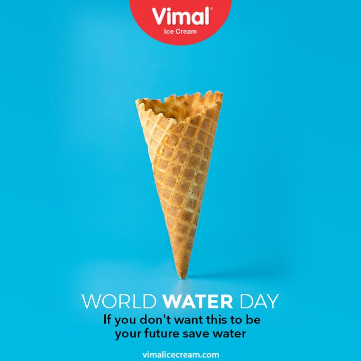 If you don't want this to be your future save water  #WorldWaterDay #WorldWaterDay2021 #SaveWater #WaterIsLife #WaterDay #VimalIceCream #IceCreamLovers #Vimal #IceCream #Ahmedabad