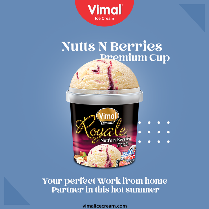 Vimal Ice-Creams, your perfect Work from home Partner in this hot summer.   #VimalIceCream #IceCreamLovers #Vimal #IceCream #Ahmedabad