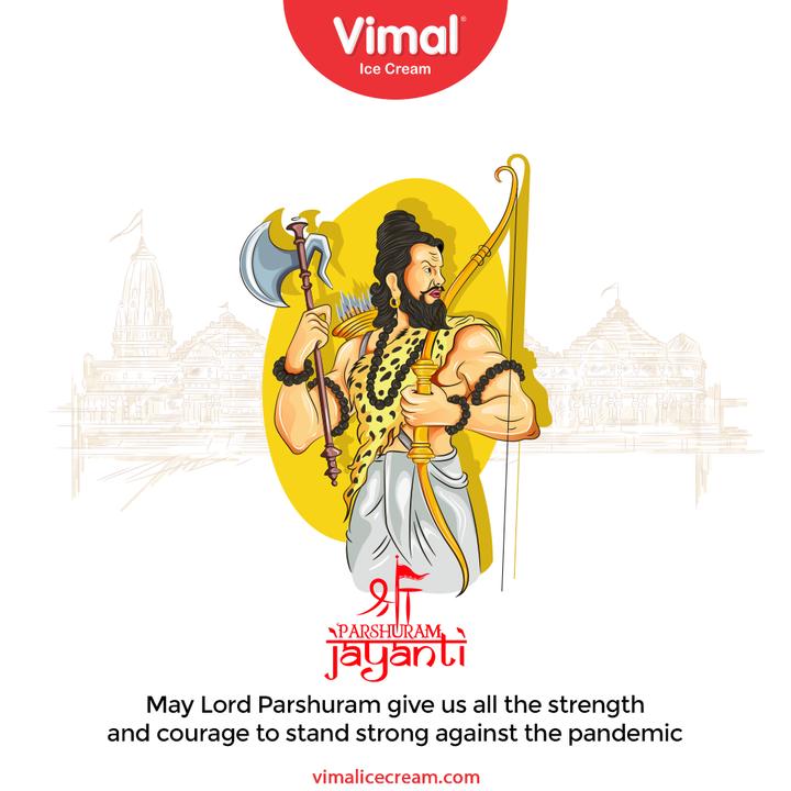 Vimal Ice Cream,  LordParshuram, ParshuramJayanti, ParshuramJayanti2021, VimalIceCream, IceCreamLovers, Vimal, IceCream, Ahmedabad