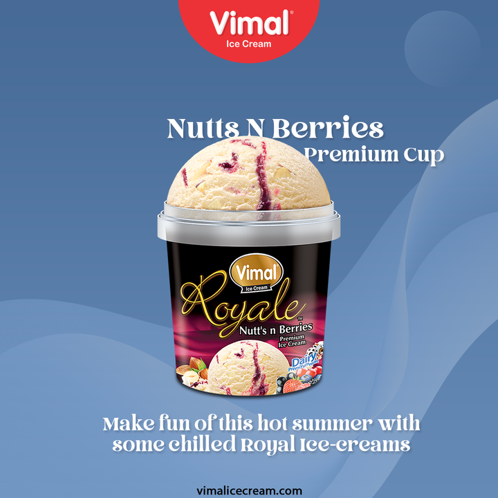 Make fun of this hot summer with some deliciously chilled Royal Ice-creams, only by Vimal Ice Creams.  #VimalIceCream #IceCreamLovers #Vimal #IceCream #Ahmedabad