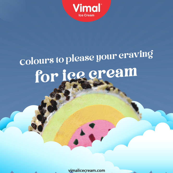 Every-day is a good day to savour ice-cream!  Keep gratifying your craving for ice-cream with a versatile range of options.  #VimalIceCream #IceCreamLovers #Vimal #IceCream #Ahmedabad #ShowerYourLoveForIcecream