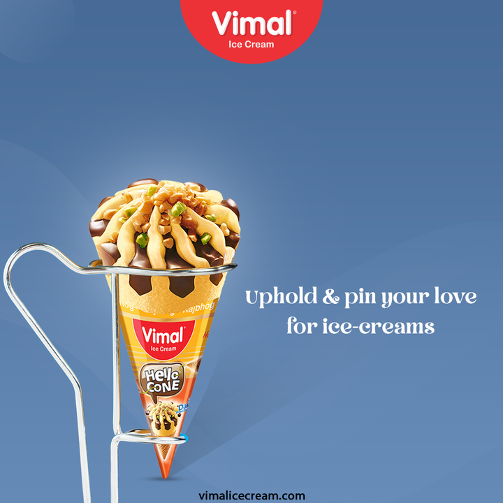 Be an ice-cream lover in the cream-ili-cious way; unhold and pin your love for ice-creams with us.  #VimalIceCream #IceCreamLovers #Vimal #IceCream #Ahmedabad #ShowerYourLoveForIcecream