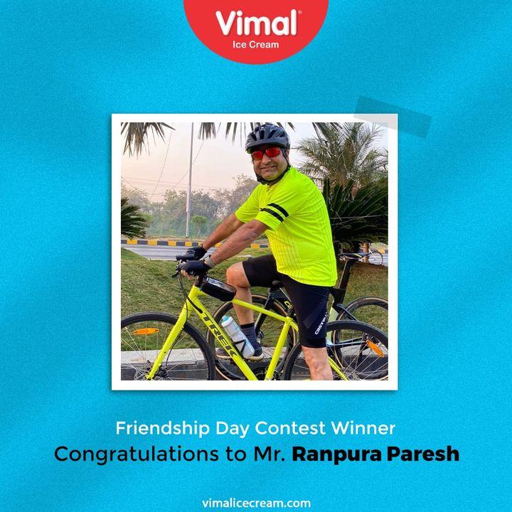 Vimal Ice Cream,  ContestWinner, VimalIceCream, IceCreamLovers, Vimal, IceCream, Ahmedabad