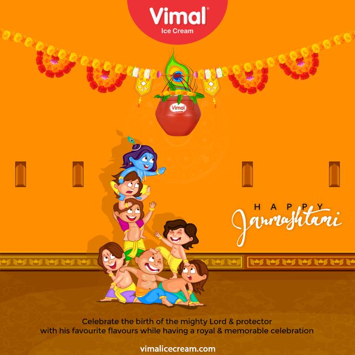Vimal Ice Cream,  HappyJanmashtami2021, JanmashtamiCelebrations, DahiHandi, HappyJanmashatami, Janmashtami2021, LordKrishna, Krishna, ShriKrishna, KrishnaJanmashtami, VimalIceCream, IceCreamLovers, Vimal, IceCream, Ahmedabad