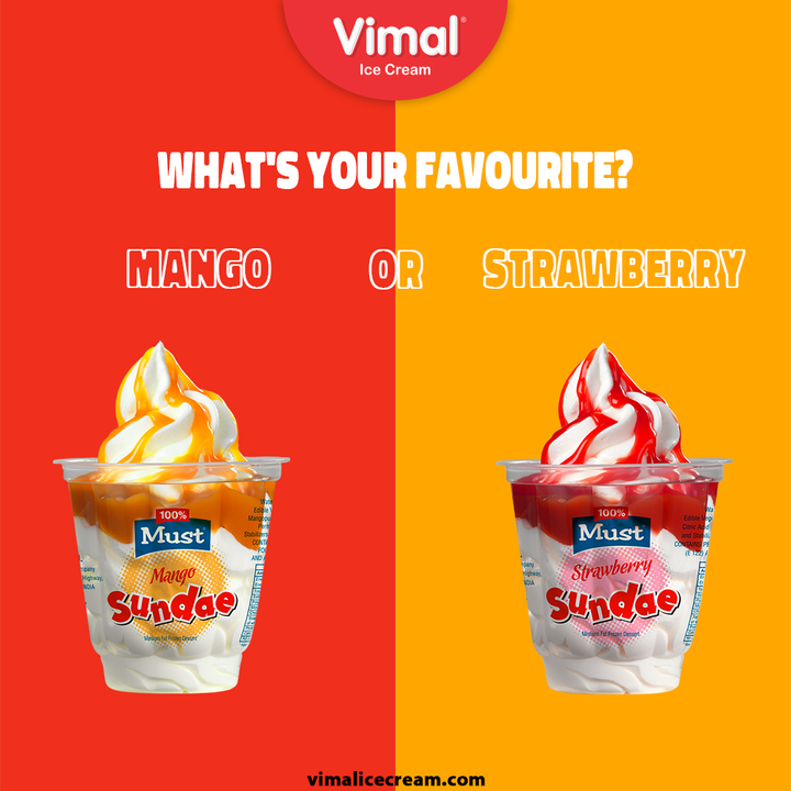 Tell us your favourite flavor in the comments section below!  #VimalIceCream #IceCreamLovers #Vimal #IceCream #Ahmedabad