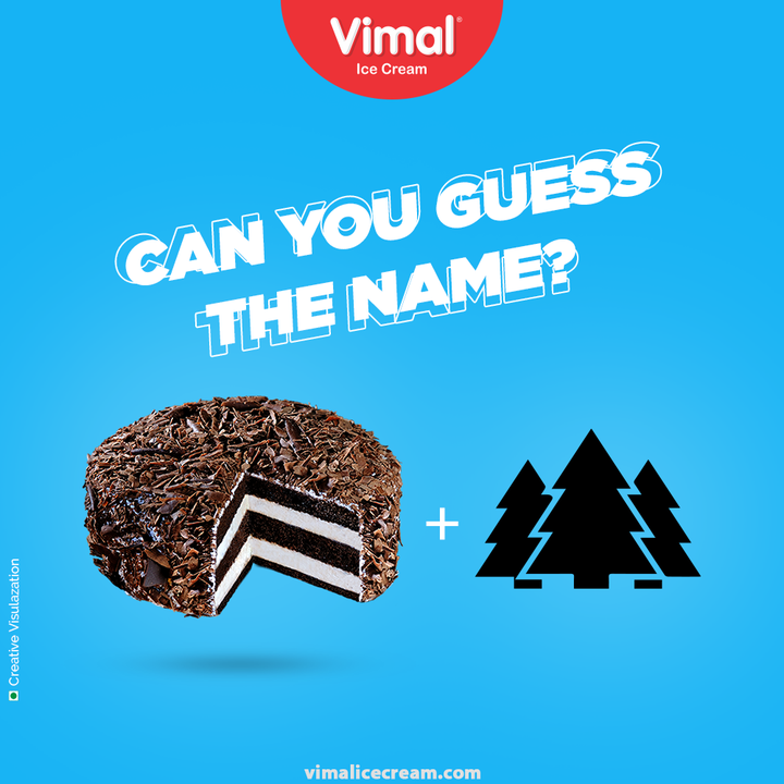 How many of you can take a look and guess the name of this decadent ice-cream in almost in a blink?  Flaunt your icecream IQ in the below commentsection!  #IcecreamIQ #VimalIceCream #IceCreamLovers #Vimal #IceCream #Ahmedabad #HappyScooping #BlackForest #GuessTheName