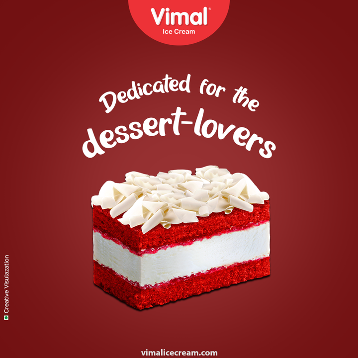 Re-assure your sweet-tooth in exotic ways with the pastry ice-creams that are dedicated for the dessert lovers.   #DessertLovers #SweetTooth #PastryIcecream #ThinkOfIcecreams #VimalIceCream #IceCreamLovers #Vimal #IceCream #Ahmedabad