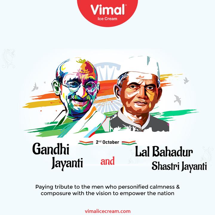 Vimal Ice Cream,  MahatmaGandhi, GandhiJayanti, LalBahadurShastriJayanti, LalBahadurShastri, VimalIceCream, IceCreamLovers, Vimal, IceCream, Ahmedabad