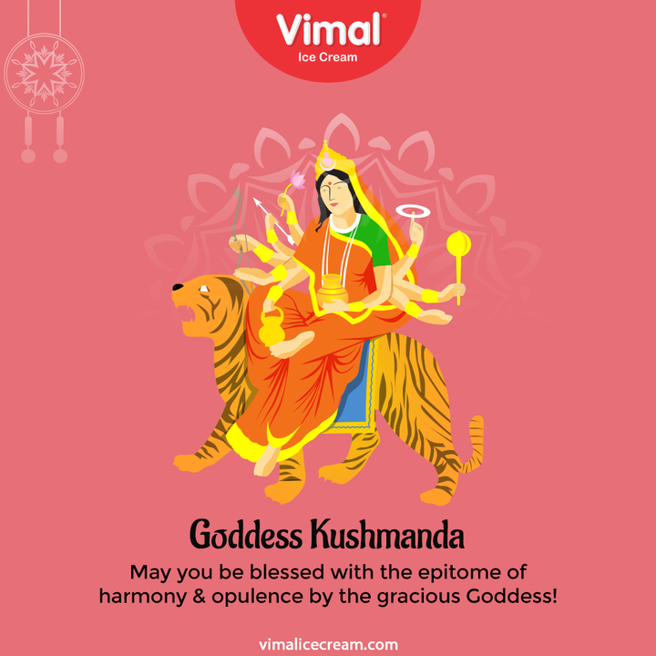 May you be blessed with the epitome of harmony & opulence by the gracious Goddess!  #Navratri #Navratri2021 #HappyNavratri #HappyNavratri2021 #Festival #VimalIceCream #IceCreamLovers #Vimal #IceCream #Ahmedabad