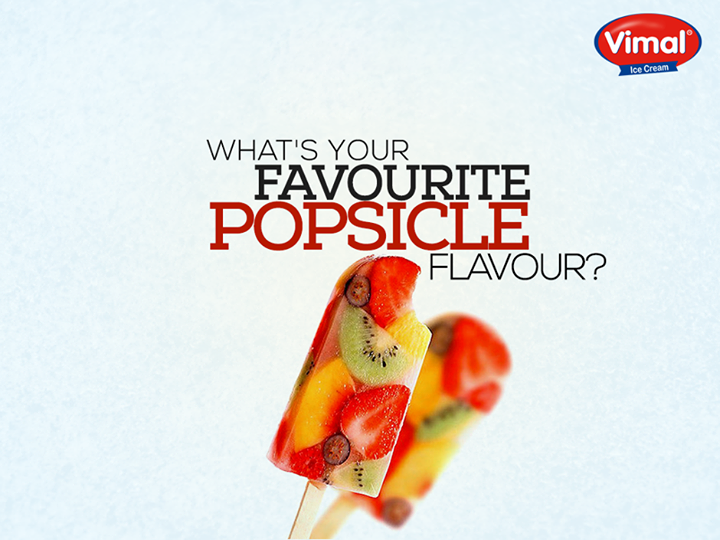 It's happiness in a mouthful and the best way to cool off under the summer sun.  #Popsicles #Summers #Vacations