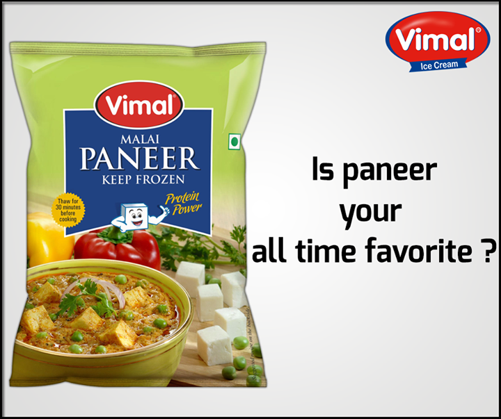 Whatever the day be, you cannot deny #Paneer!