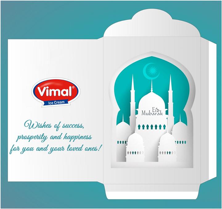 May your hearts be filled with the joyful spirit of Eid.   #EidMubarak #VimalIceCreams