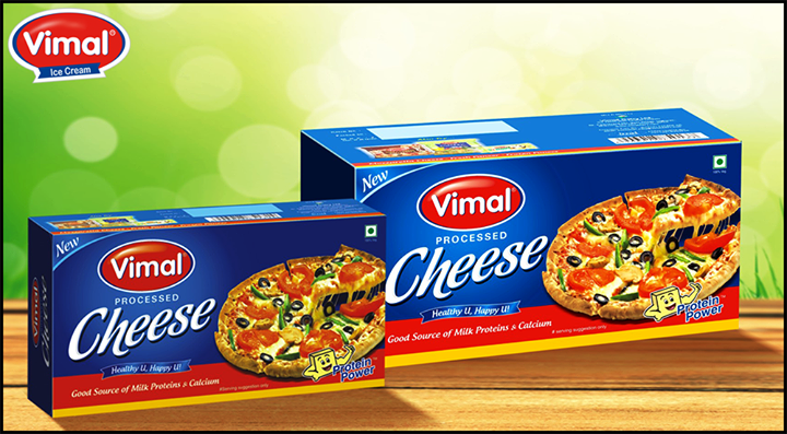 #Happiness is a #Pizza loaded with extra #cheese!  #Vimaldairy