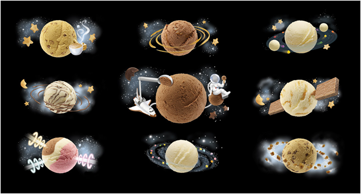 Come and indulge yourself in the universe of #IceCreams!  #VimalIceCream #IceCreamLovers  Imagesource: Internet