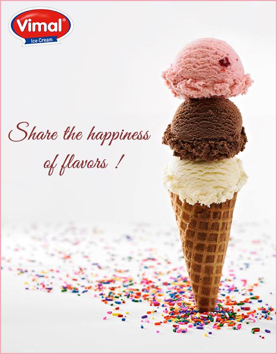Share the #Happiness of #Flavors !  #VimalIceCream #IceCreams #IceCreamLovers