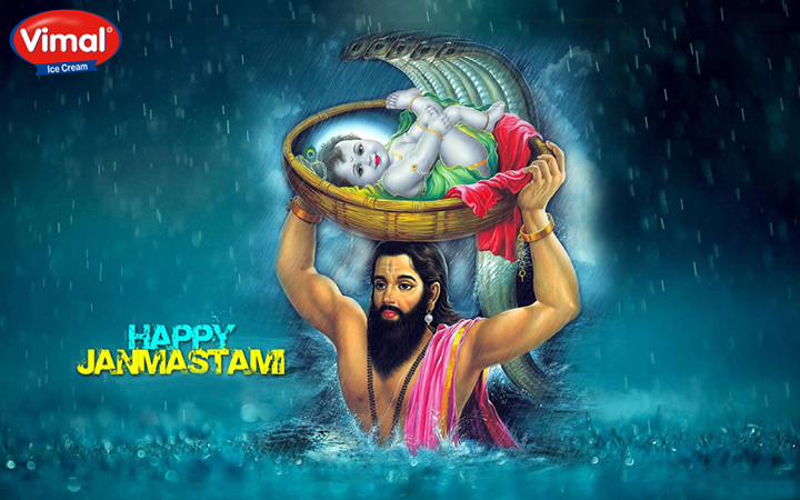 Here's wishing you a blessed #Janmastami..