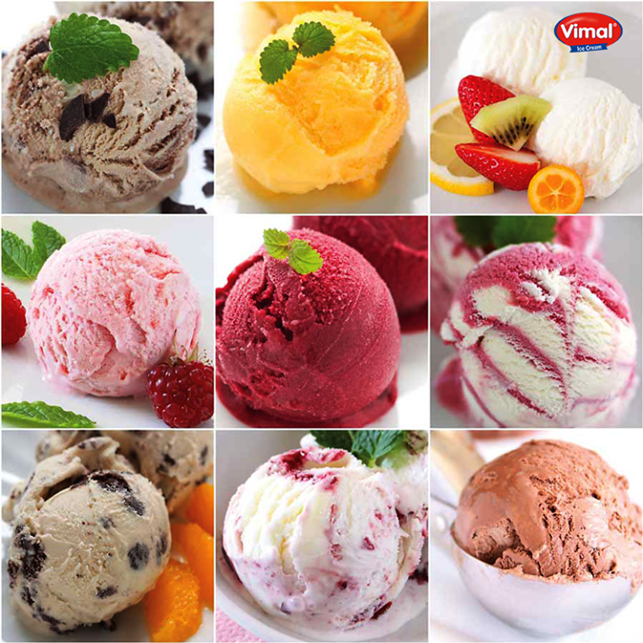 Which is your favorite one?  #IceCreamLovers #VimalIceCreams