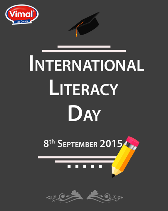 #Literacy is the most powerful weapon we can use to change the world.  #InternationalLiteracyDay