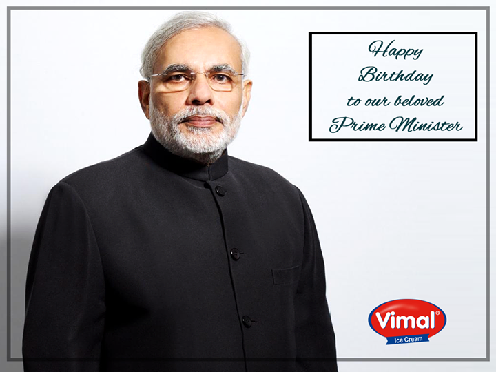 A very Happy Birthday to our beloved Prime Minister Shri Narendra Modi!  #HappyBdayPM
