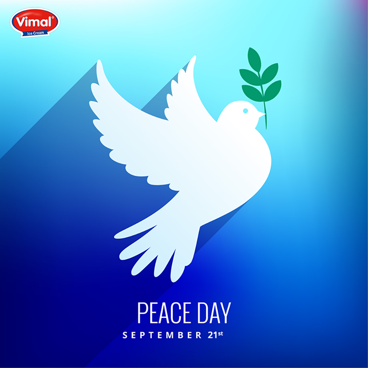 Peace isn't the destination, peace is the way!   #WorldPeaceDay