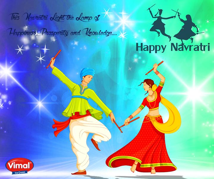 Festive wishes from Vimal Ice Cream !  #HappyNavratri