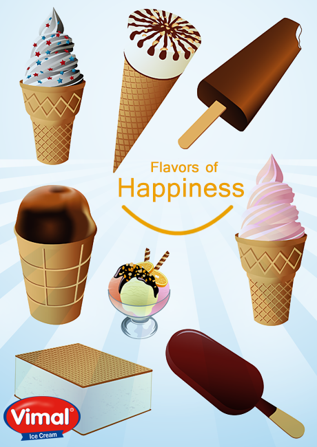 Enjoy the flavors of happiness with Vimal Ice Cream!  #FlavorsofIcecream #IcecreamLovers #VimalIcecream #Ahmedabad