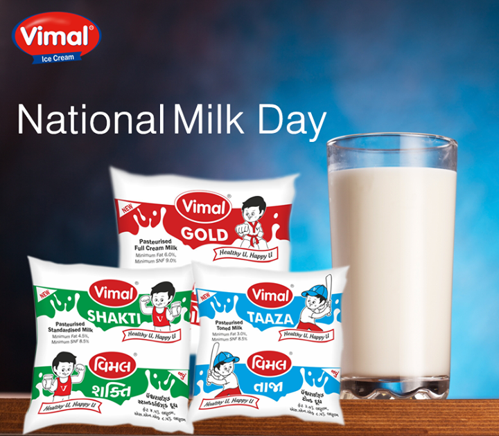 Let's Celebrates Today #NationalMilkDay in the memory Dr Verghese Kurien, The Father of India's White Revolution  #VImalIceCream #VimalDairy #Ahmedabad