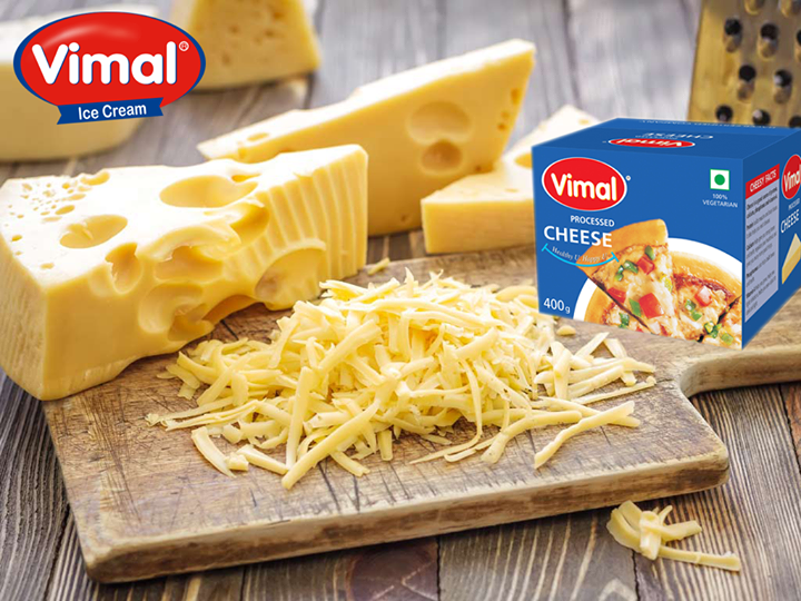 The secret ingredient to amuse your taste buds is always #Cheese.  #SayCheese #VimalDairy