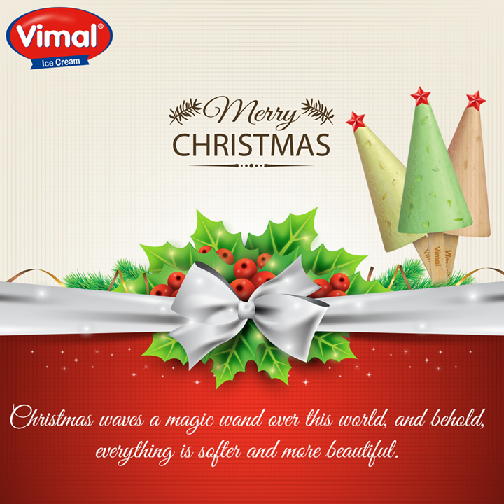 Here's wishing you all a #MerryChristmas from Vimal Ice Cream !