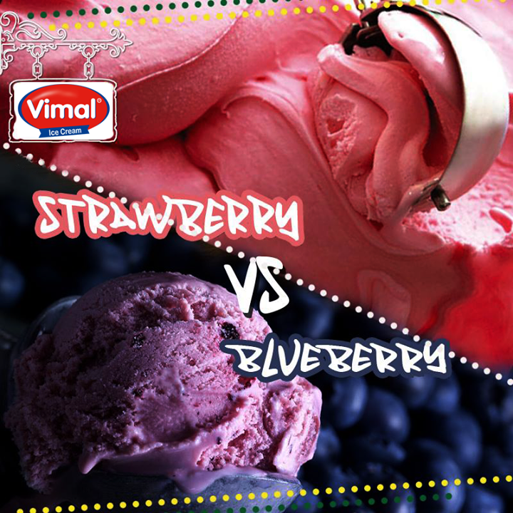 Vimal Ice Cream,  Weekend, Treats, Indulgence, IcecreamLovers, VimalIcecream, Ahmedabad, Strawberry, Blueberry