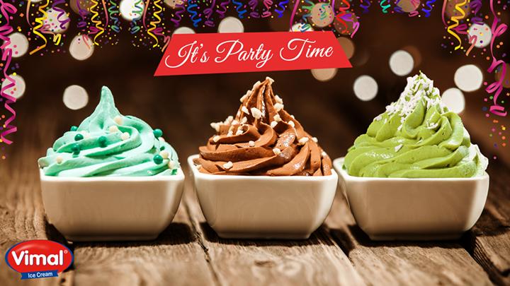 Vimal Ice Cream,  NewYear, Party, Celebrations, IcecreamLovers, VimalIcecream, Ahmedabad