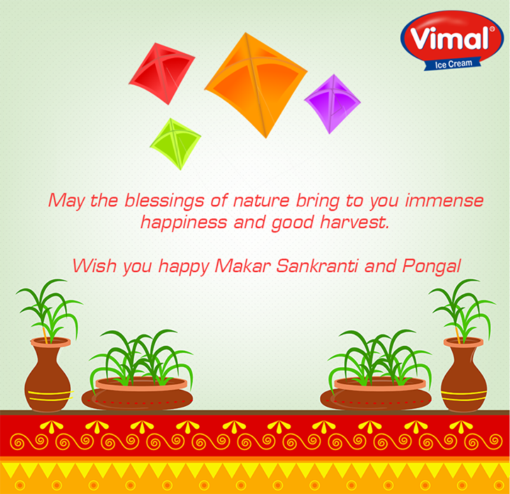 #Festive wishes on the occasion of #MakarSankranti & #Pongal!