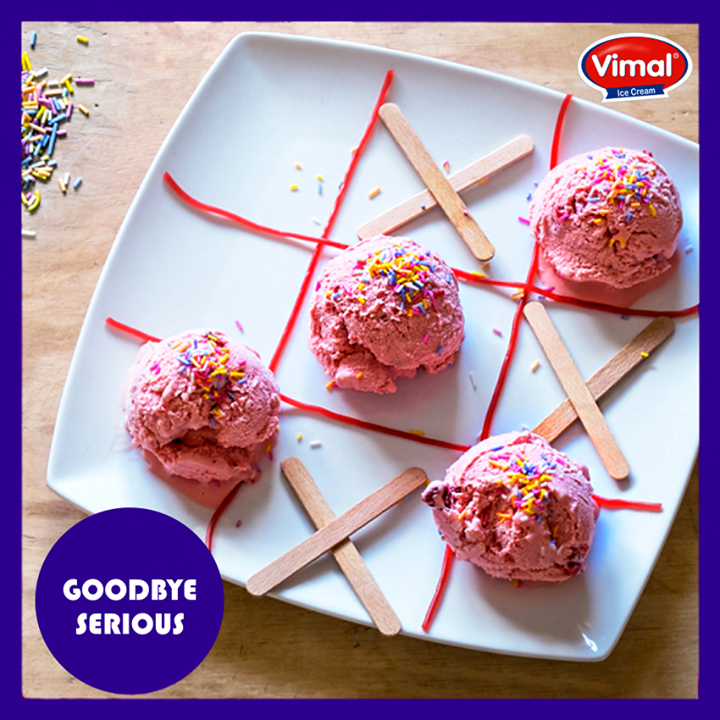 Time for some fun! Are you in for the play?  #Funtime #Icecream #IcecreamLovers #VimalIcecream #Ahmedabad