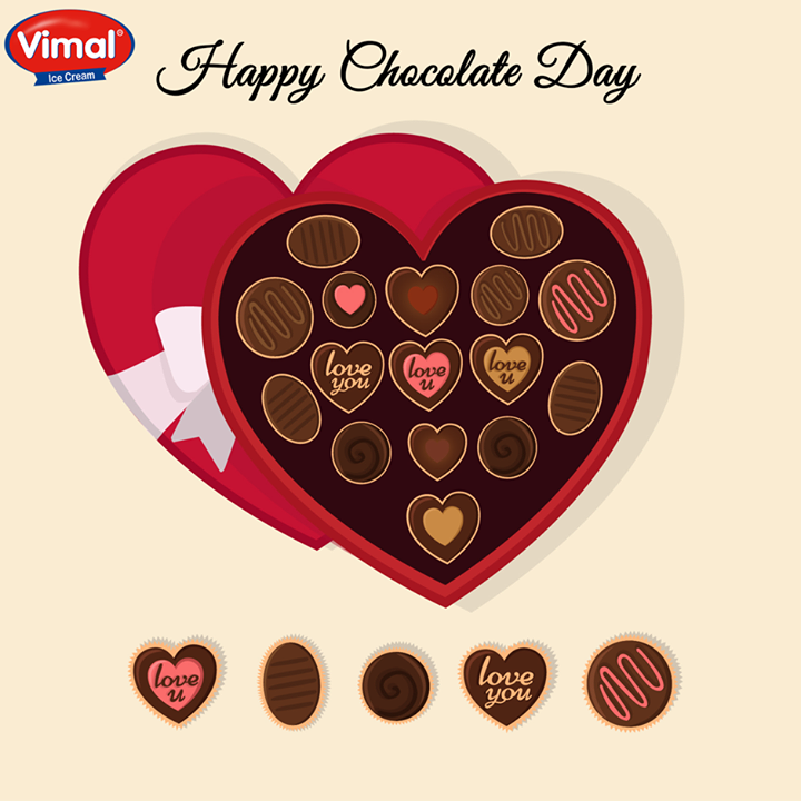 Vimal Ice Cream,  Chocolate, express, love, Valentines!, HappyChocolateDay!