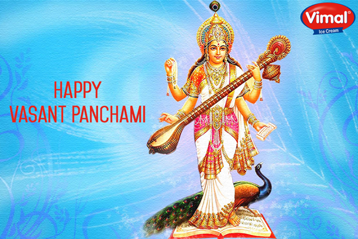 On the auspicious occasion of #VasantPanchami our cordial greetings. May this #Festival bring joy and #Prosperity to all.  #VimalIcecream #Ahmedabad
