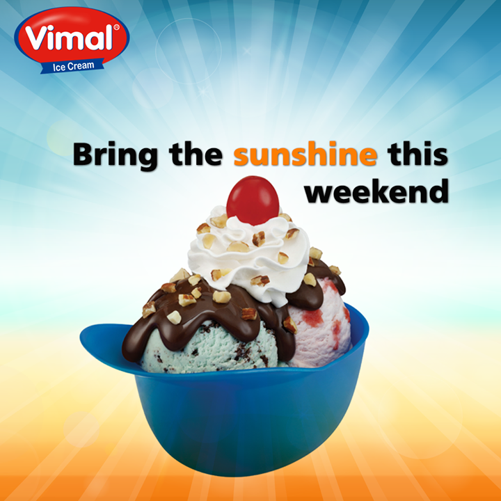 A fresh creamy thunder will blow your taste buds this weekend  #WeekendTreats #Icecream #IcecreamLovers #VimalIcecream #Ahmedabad