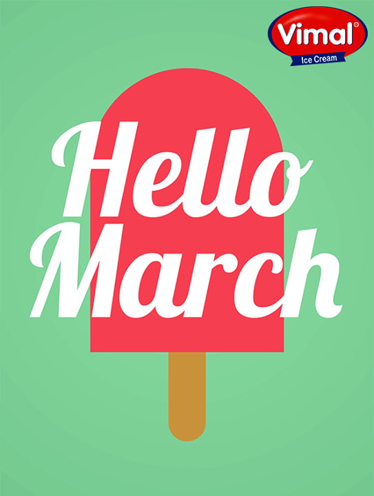 Time to bring in the sunshine! Say hello to Spring…  #Sunshine #WarmWeather #HelloSpring #IcecreamLovers #VimalIcecream #Ahmedabad