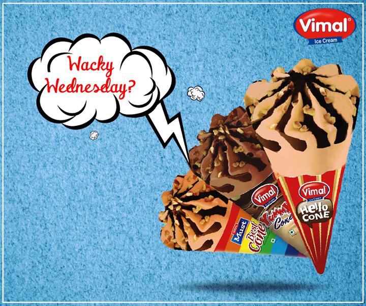 Vimal Ice Cream,  HumpDay, IcecreamTreats, IcecreamCone, VimalIcecream, Ahmedabad