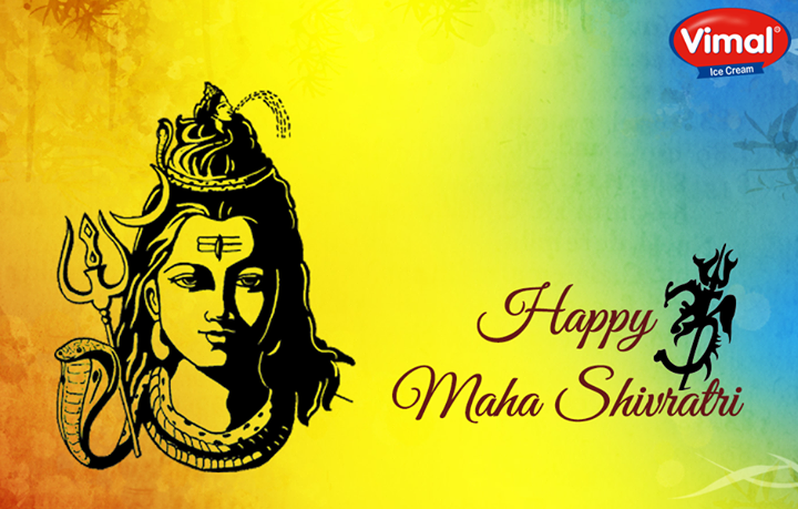 Warm wishes on the pious occasion of #MahaShivratri from Vimal Ice Cream !