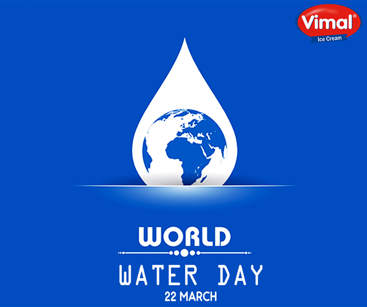 Even a drop can bring life!  #WorldWaterDay #SaveWater