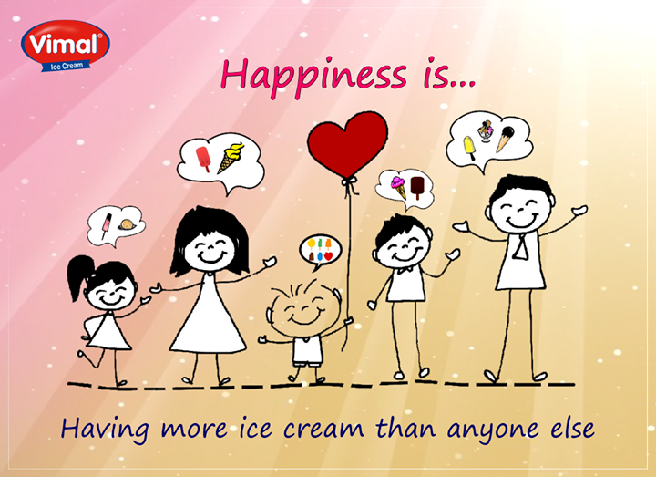 Don't you rejoice savoring an extra treat from Vimal Ice Cream ?  #SweetTreats #Icecream #VimalIcecream #Ahmedabad