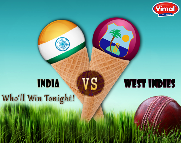 Let's cheer for our super stars while they ace on the grounds of semifinals!  #CheerforIndia #Icecreams #VimalIcecream #Ahmedabad