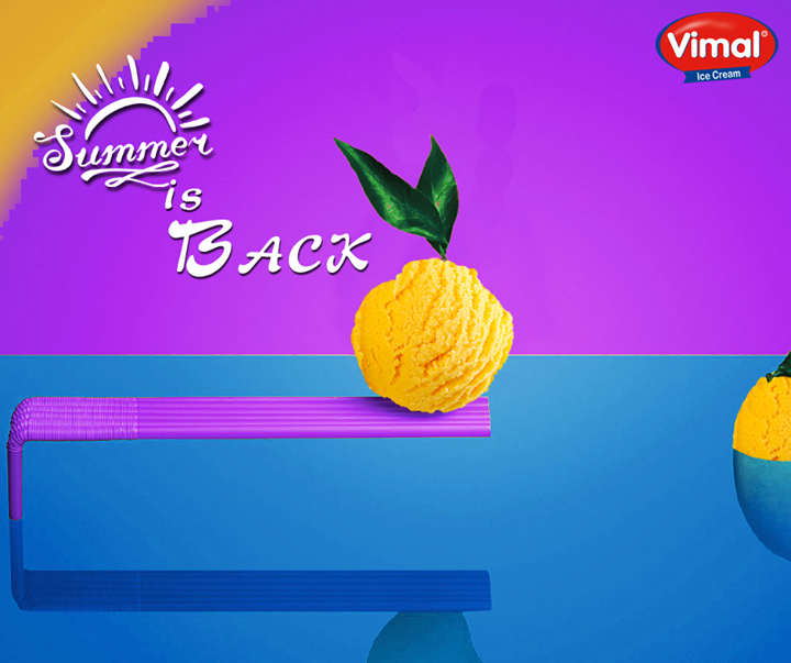 Let's kick-start the #summers with the #kingofflavor from Vimal Ice Cream !  #Weekend #IceCreamLovers #VimalIceCream #Ahmedabad