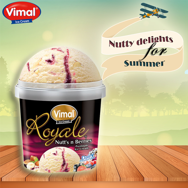 Vimal Ice Cream,  yummy, NuttyDelights, SummerSpecial, NewFlavors, IcecreamLovers, VimalIcecream, Ahmedabad
